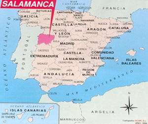 mapa salamanca espanha Salamanca – Viajes al alcance de todos mapa salamanca espanha
