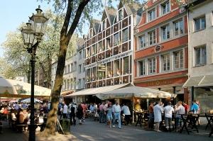 Die Bolkerstraße in der Altstadt
