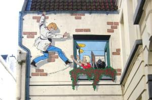 Ric Hochet, un cómic de Tibet. Rue du Bon Secours, 9