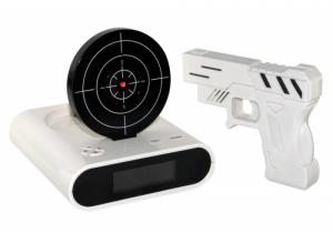 despertador pistola